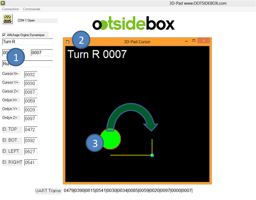 3DPad logiciel