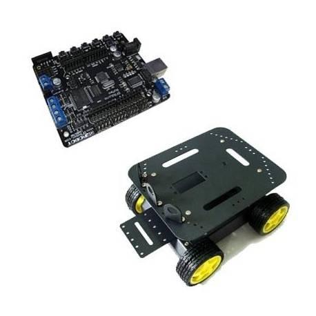 Kit robot mobile 4 roues