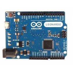 Carte Arduino Leonardo avec headers