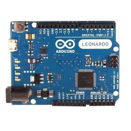 Carte Arduino Leonardo avec headers