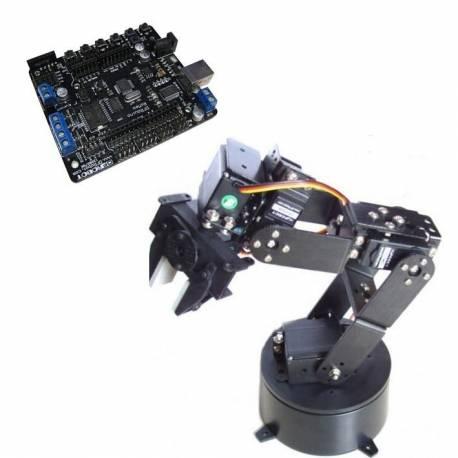 Kit bras robotique à 6 degrés de liberté