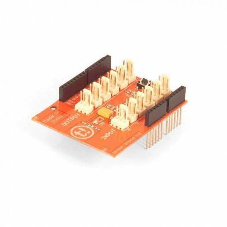 "Carte d'extension Arduino ""TinkerKit Sensor Shield V.2"""