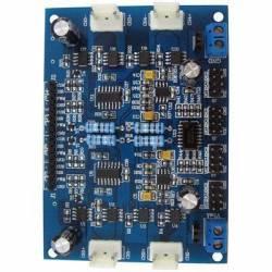 Carte contrôleur 4 moteurs CC 4.5-12V 4A