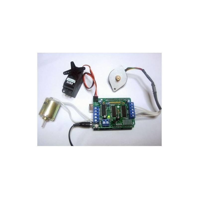 Kit shield adafruit motor stepper servo for Adafruit stepper motor shield