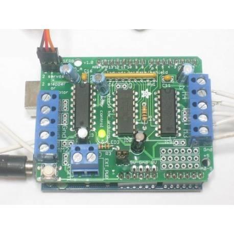 "Kit ""Shield Adafruit Motor/Stepper/Servo"""