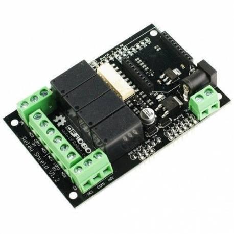 Shield Relais pour Arduino