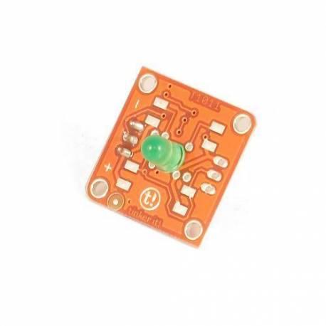 Module TinkerKit Led verte 5mm