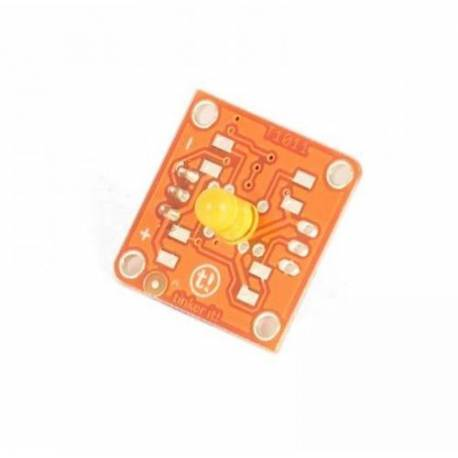 Module TinkerKit Led jaune 5mm