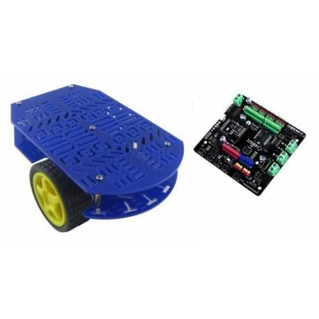 Kit robot mobile Dagu Magician Robot + Carte Romeo