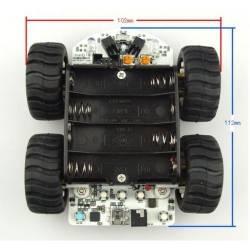 Kit robot mobile MiniQ 4 roues motrices