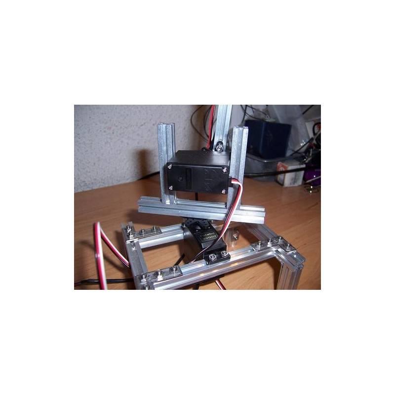 Kit Makerbeam De Mini Profil 233 S T 10mm En Aluminium Anodis 233