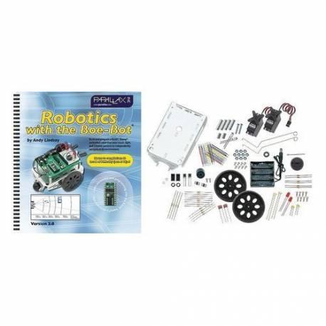 """Kit Robotique Parallax Boe-Bot """"Deluxe"""""""