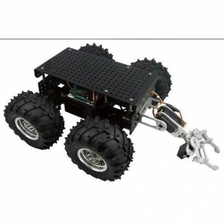 "Châssis robot 4 roues motrices + Pince: ""4WD Wild Thumper""?"