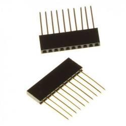 Connecteur strip 14.5mm 10 pins spécial arduino (la paire)