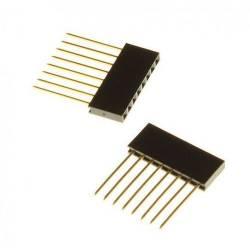 Connecteur Strip 14.5mm 6 pins spécial arduino (la paire)