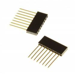 Connecteur strip 14.5mm 8 pins spécial arduino (la paire)
