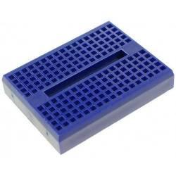 Mini Breadboard 170 points Adhésive - Bleu