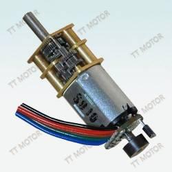Motoréducteur 12 mm - 5V 298:1 avec codeur