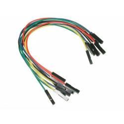 Kit de 20 fils connecteurs femelle/femelle spécial Arduino