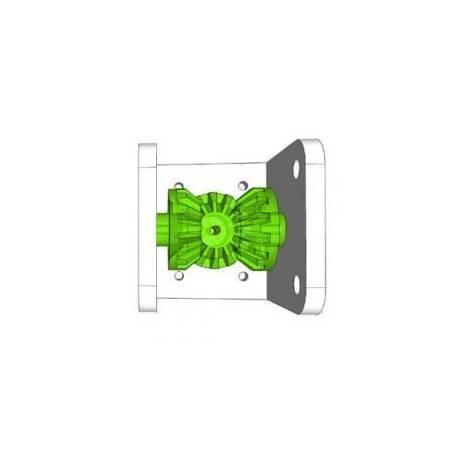 Boitier d'engrenages à renvoi d'angle (90° et 180°)