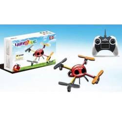 Mini quadricoptère Ladybug avec radiocommande