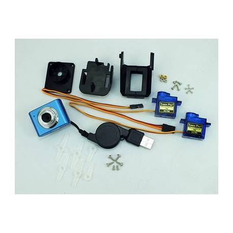 Kit Webcam 3 axes pour PcDuino