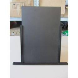 Plaque en polystyrene noir