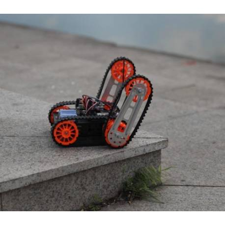 "Kit Multi chassis 4WD ""tank track"" DAGU"