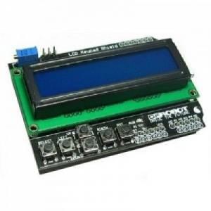 Robotique-Projet - Widgets Shield-afficheur-lcd-boutons-pour-arduino