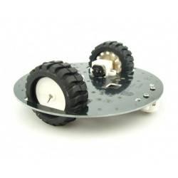 Mini plateforme robot mobile 2 roues pour Arduino