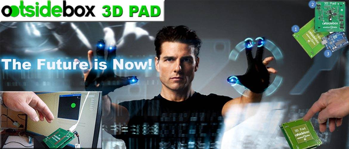 OOTSIDEBOX 3DPAD Interface gestuelle 3D
