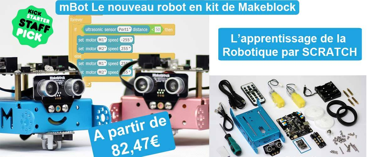 Robot en kit mBot de Makeblock
