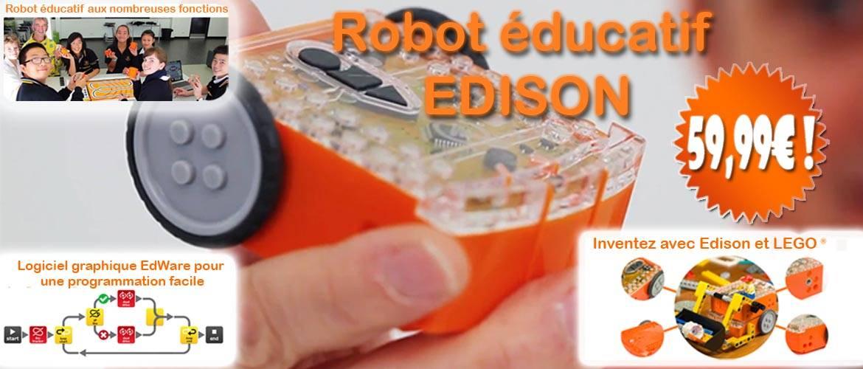 Le robot éducatif avec de nombreux capteurs et compatible LEGO